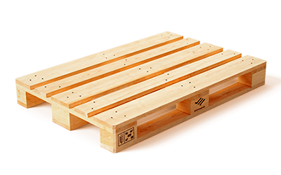 New pallet with EURO brand